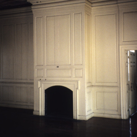 Fireplace, Chowan County Courthouse, Edenton, Chowan County, North Carolina