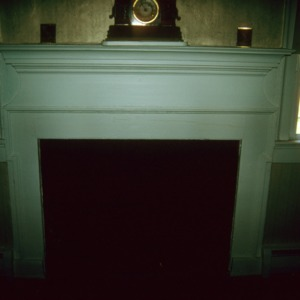 Fireplace, West Customs House, Edenton, Chowan County, North Carolina
