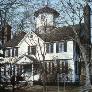 Front view, Cupola House, Edenton, Chowan County, North Carolina