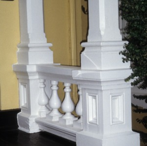 Columns, Banker's House, Shelby, Cleveland County, North Carolina