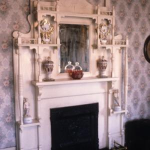 Fireplace, Dr. Victor McBrayer House, Shelby, Cleveland County, North Carolina