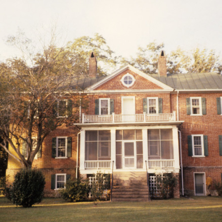 Front view, Bellair, Craven County, North Carolina