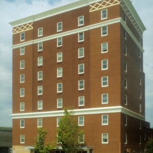 View, Vanderbilt Building, Buncombe County, North Carolina
