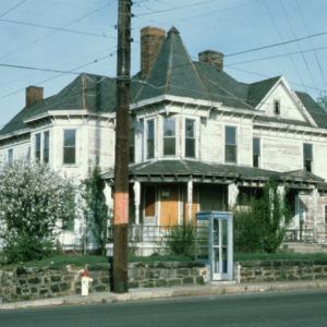 View, Gudger House, Asheville, Buncombe County, North Carolina