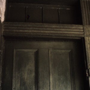 Exterior detail, Hapholdt House, Morganton, Burke County, North Carolina
