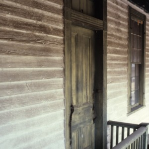 Door, Hapholdt House, Morganton, Burke County, North Carolina