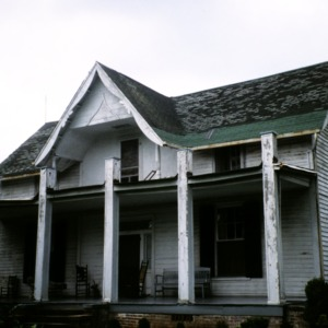 Front view, Cherry Hill, Lenoir, Caldwell County, North Carolina