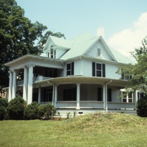 View, Newland Oaks, Lenoir, Caldwell County, North Carolina