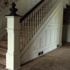 Stairs, Newland Oaks, Lenoir, Caldwell County, North Carolina