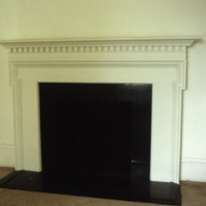 Fireplace, Newland Oaks, Lenoir, Caldwell County, North Carolina
