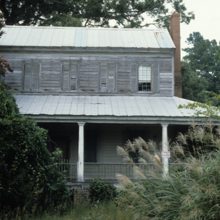 Partial view, Sanderlin-Prichard House, Camden County, North Carolina