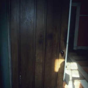 Door, Sanderlin-Prichard House, Camden County, North Carolina
