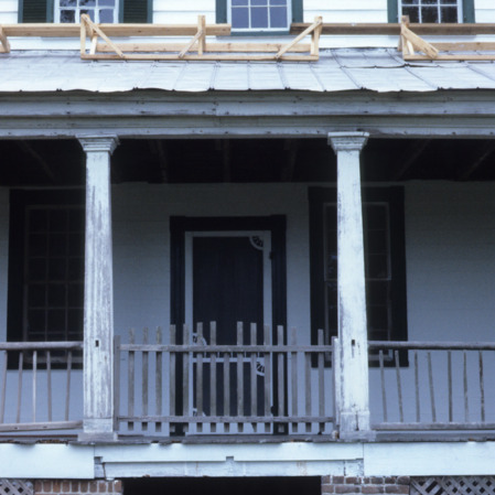 Porch, Sanderlin-Prichard House, Camden County, North Carolina