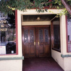 Entrance, 29 Tennessee Street, Murphy, Cherokee County, North Carolina