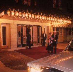 Entrance, Prince Charles Hotel, Fayetteville, Cumberland County, North Carolina