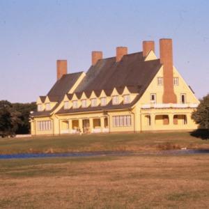 View, Whalehead Club, Corolla, Currituck County, North Carolina