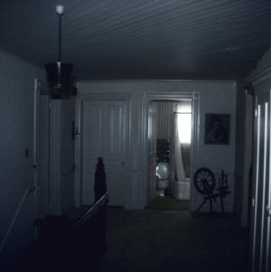 Interior view, George W. Wall House, Wallburg, Davidson County, North Carolina