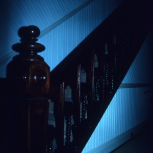 Stairs, George W. Wall House, Wallburg, Davidson County, North Carolina