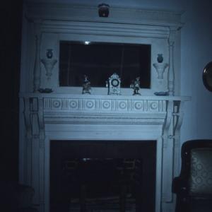 Fireplace, George W. Wall House, Wallburg, Davidson County, North Carolina