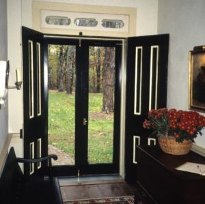 Doorway, Jesse Clement House, Mocksville, Davie County, North Carolina