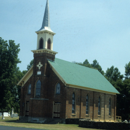 View, Fulton United Methodist Church, Davie County, North Carolina