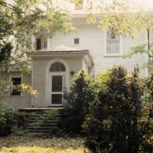 Exterior detail with doorway, Faison-Williams House, Faison, Duplin County, North Carolina