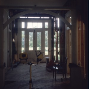 Interior view with doorway, Faison-Williams House, Faison, Duplin County, North Carolina