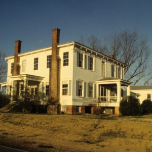 Interior view, Buckner Hill House, Duplin County, North Carolina