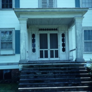 Entrance, Buckner Hill House, Duplin County, North Carolina