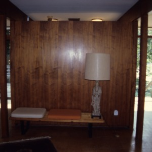 Interior view, George Poland House, Durham County, North Carolina