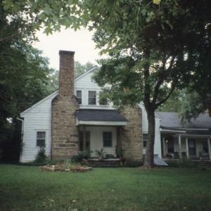 Front view, Leigh Farm, Durham County, North Carolina