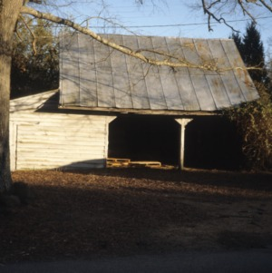 Barn view, Leigh Farm, Durham County, North Carolina