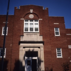 Entrance, Watts Street School, Durham County, North Carolina