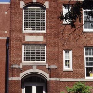 Partial view, Watts Street School, Durham County, North Carolina