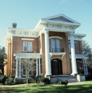 Front view, The Barracks, Tarboro, Edgecombe County, North Carolina