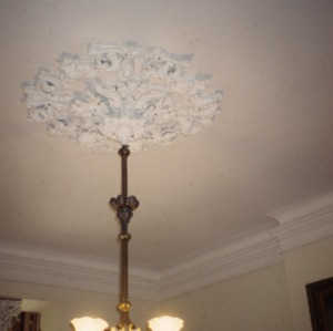 Ceiling fixture, The Barracks, Tarboro, Edgecombe County, North Carolina