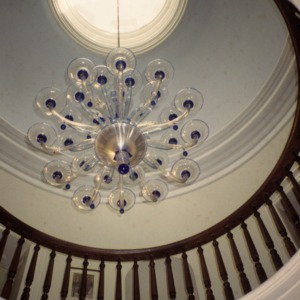 Chandelier, The Barracks, Tarboro, Edgecombe County, North Carolina