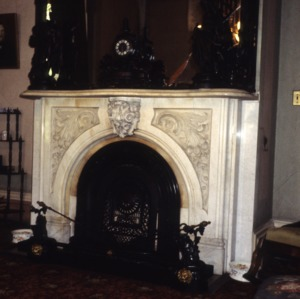 Fireplace, Coolmore, Edgecombe County, North Carolina