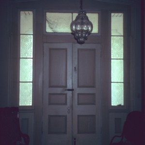 Front door, Coolmore, Edgecombe County, North Carolina