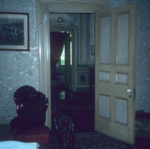 Interior view with doorway, Coolmore, Edgecombe County, North Carolina