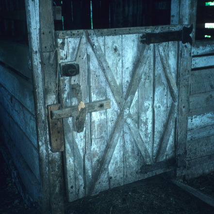 Barn detail, Coolmore, Edgecombe County, North Carolina