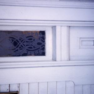 Exterior detail, Coolmore, Edgecombe County, North Carolina