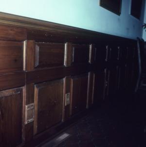 Interior detail, Old Town Plantation House, Edgecombe County, North Carolina