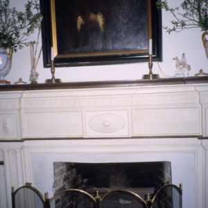 Fireplace, Wilkinson-Dozier House, Edgecombe County, North Carolina