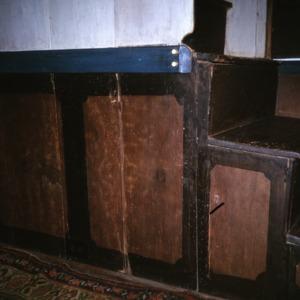 Interior detail, John Jacob Schaub House, Forsyth County, North Carolina