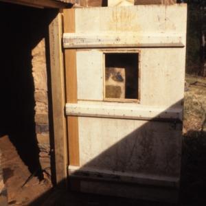 Doorway, John Jacob Schaub House, Forsyth County, North Carolina
