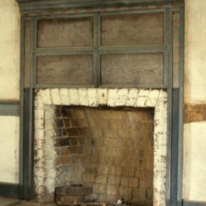 Fireplace, John Jacob Schaub House, Forsyth County, North Carolina