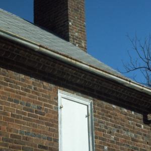Partial view, John Jacob Schaub House, Forsyth County, North Carolina