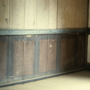Interior view, John Jacob Schaub House, Forsyth County, North Carolina