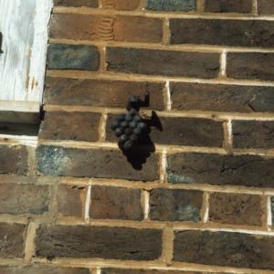 Exterior detail, John Jacob Schaub House, Forsyth County, North Carolina